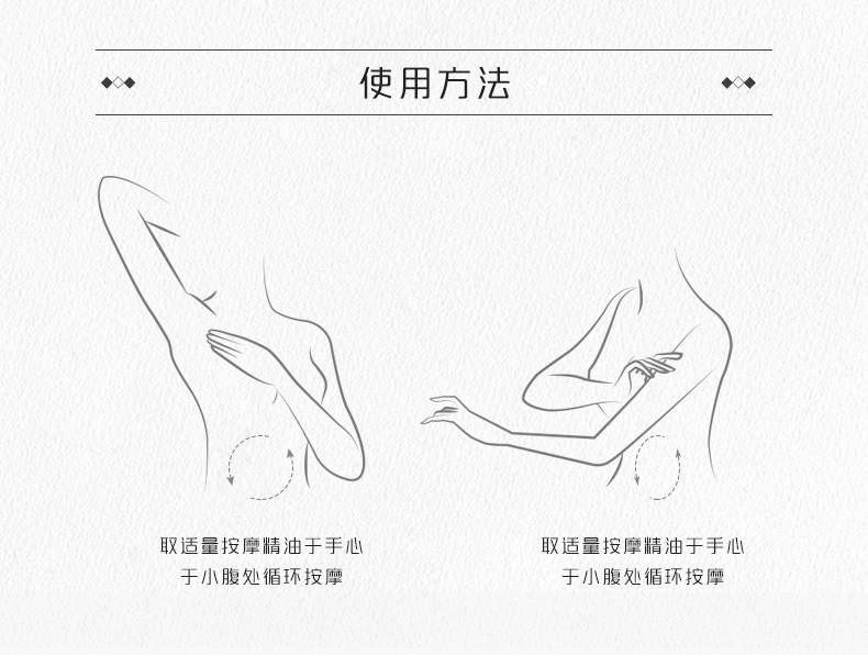 腹部按摩精油